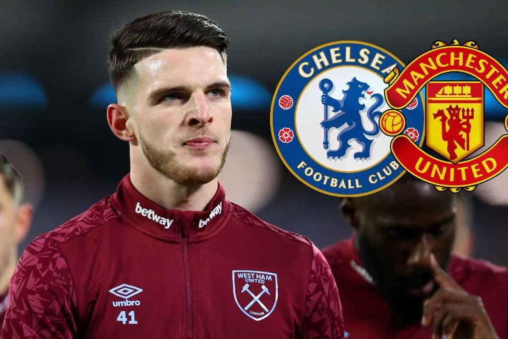 West Ham manager David Moyes has insisted the club have had no contact from Chelsea or Manchester United as he warned the Premier League giants off Declan Rice.