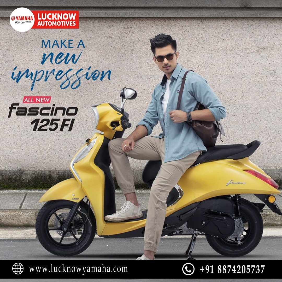 The Yamaha #fascino has already won hearts with its unique appearance and slick design. Call Us📲:- For service:6388969783,8887745449 For sales: 8948433111 For spare: 9670419111 #Yamaha #YamahaIndia  #bike #sportsbiz #weekendvibes #SundayMotivation