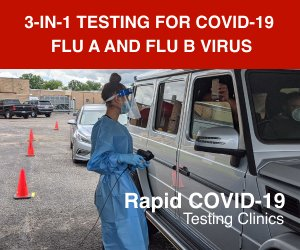 GMED Global Offers 3-in-1 Testing for COVID-19 and Influenza A and/or B Virus Drive through clinics offer rapid testing to diagnose infection caused by one of three viruses and supports the proper course of treatment #COVID19 #flu #COVIDー19 #Influenza