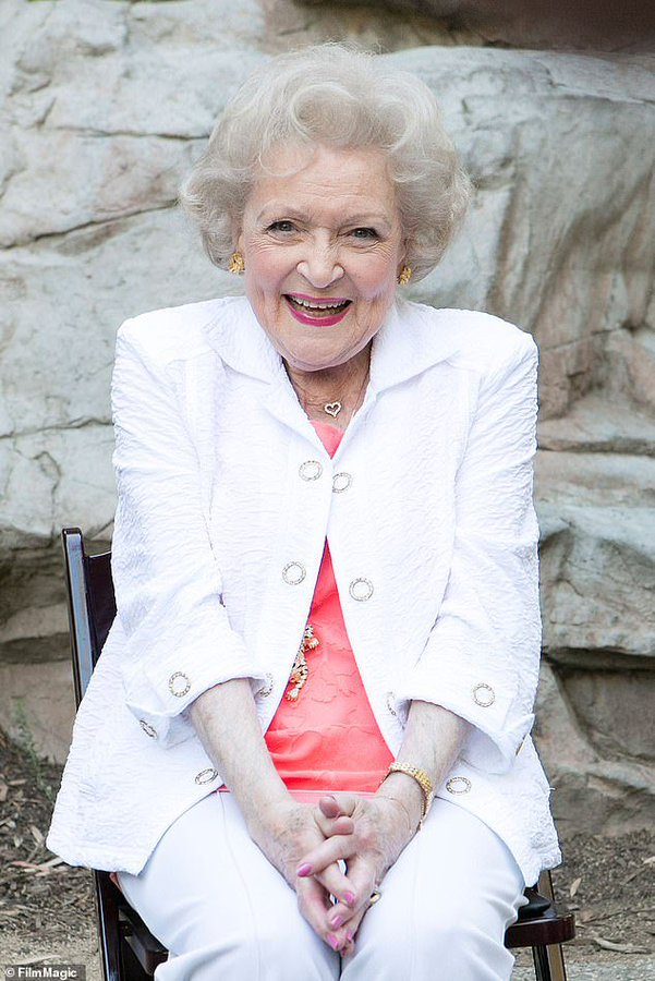 """""""Animals Are Near And Dear To My Heart And I've Devoted My Life To Trying To Improve Theirs."""" Betty White. .... Happy 99th Birthday you are amazing, incomparable, inspirational and hilarious. Here's to many more 🥰 #BettyWhite #HappyBirthdayBettyWhite"""