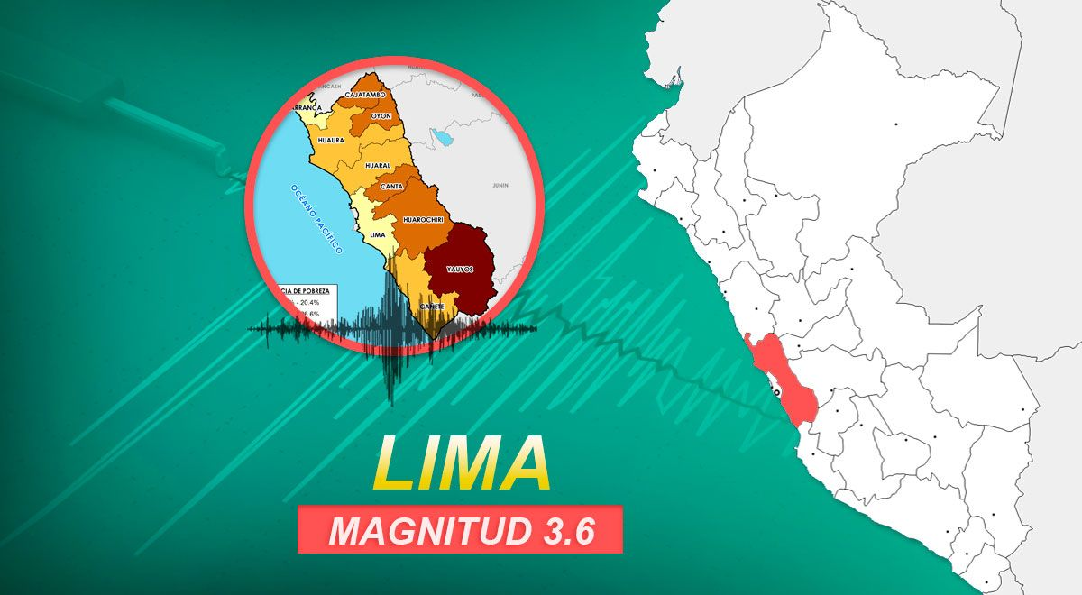 Sismo de magnitud 3.6 se registró en Lima la madrugada de este domingo, según IGP ►https://t.co/zceROIb4G5 https://t.co/Nx2kLnrlAV