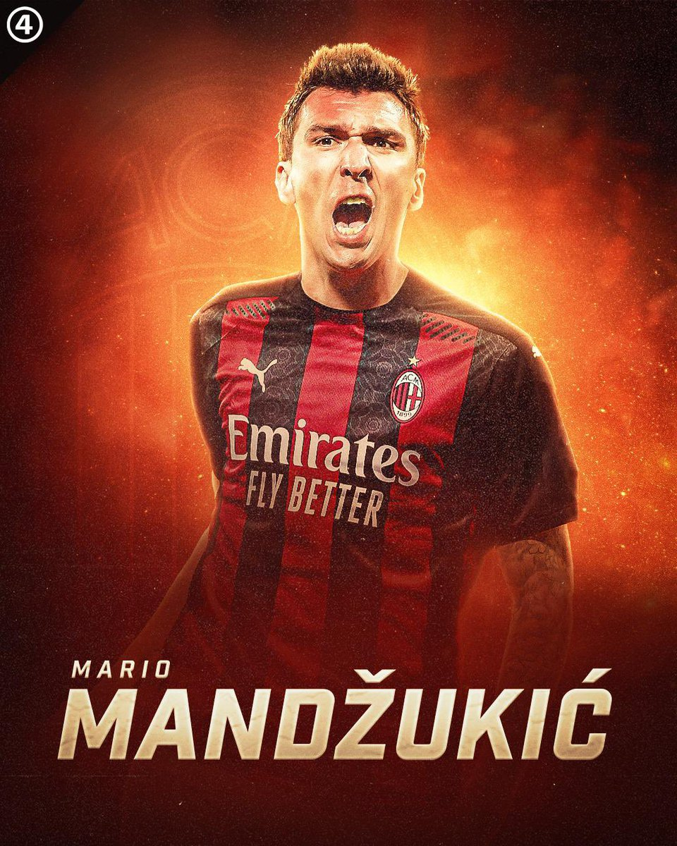 DONE DEAL: @MarioMandzukic9 reached an agreement with @acmilan 🔴⚫️