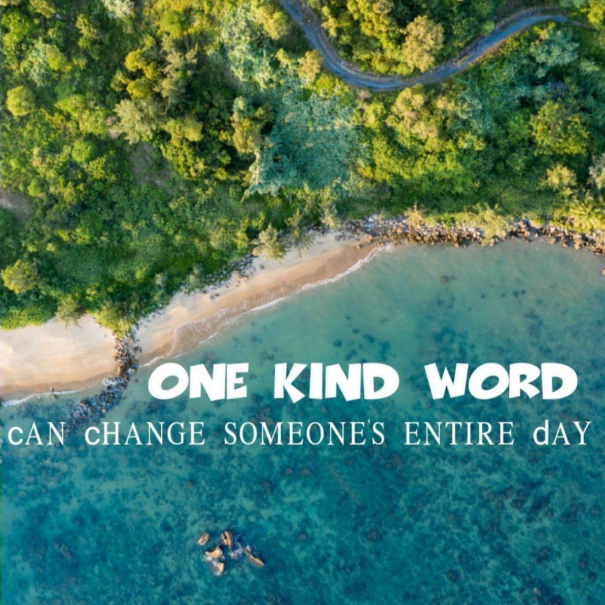 Ein freundliches Wort kann den ganzen Tag eines Menschen verändern. #SundayMotivation  #SundayThoughts