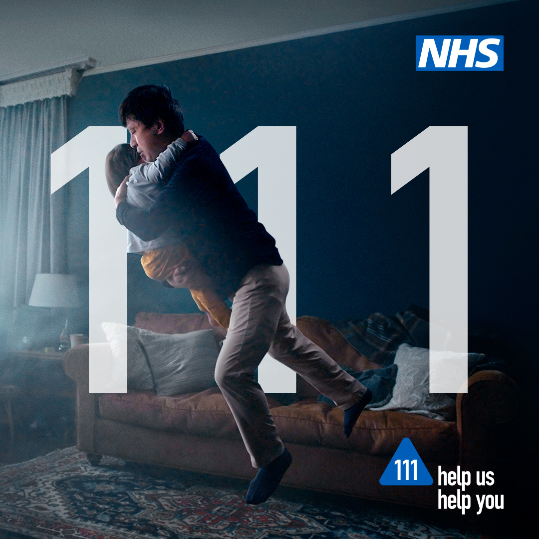 If you have an urgent health concern, then think 111 first. NHS 111 will direct you to the most appropriate service to use and can even book you a timeslot at A&E. #HelpUsHelpYou
