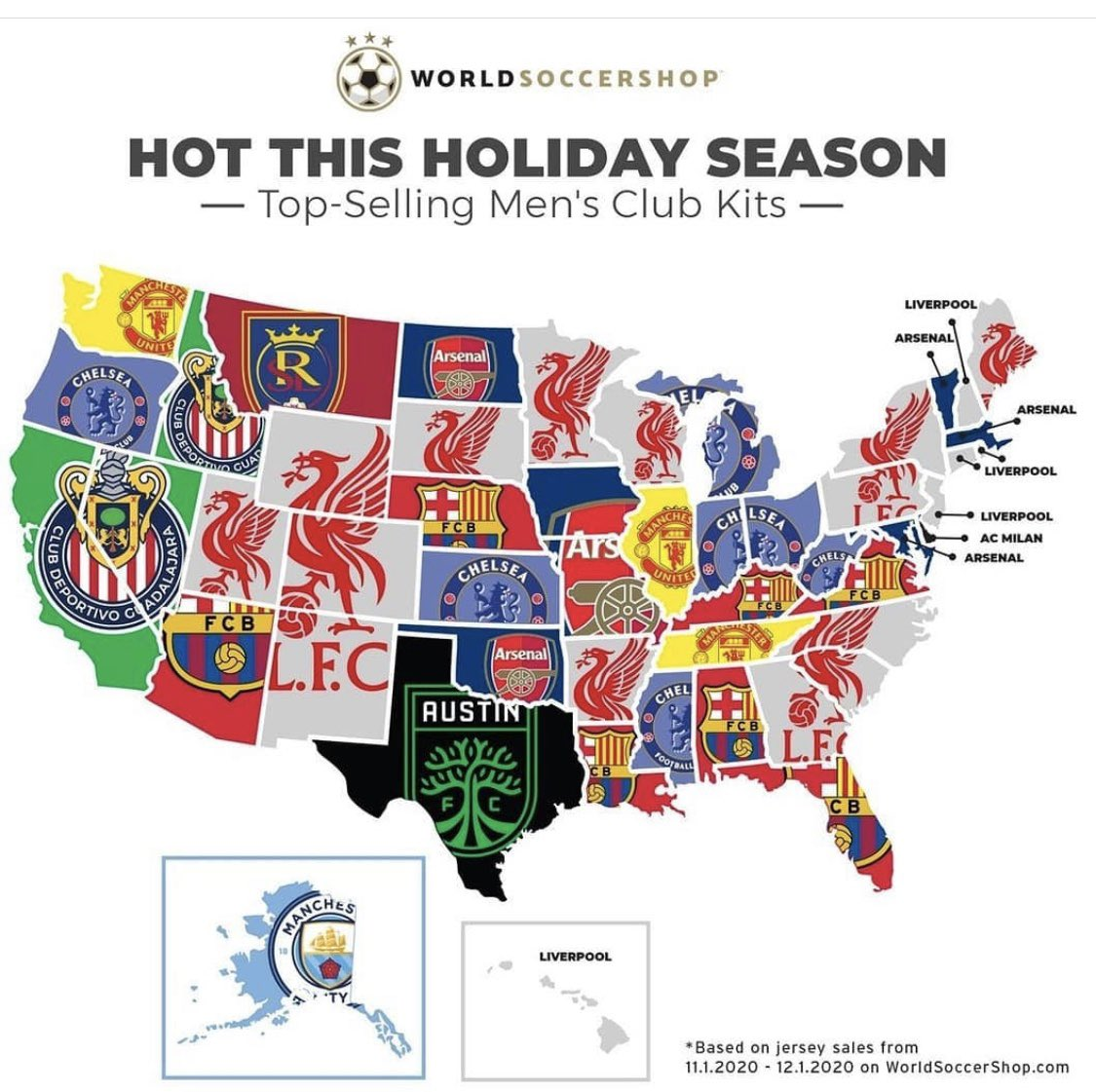 Struggling to find Spurs on this USA map anywhere!!!