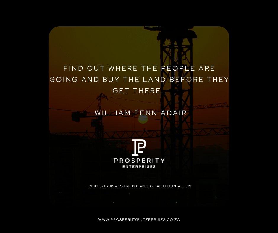 #BeProsperous #PropertyInvestment #WealthCreation #FinancialFreedom #RealEstate #SundayMotivation