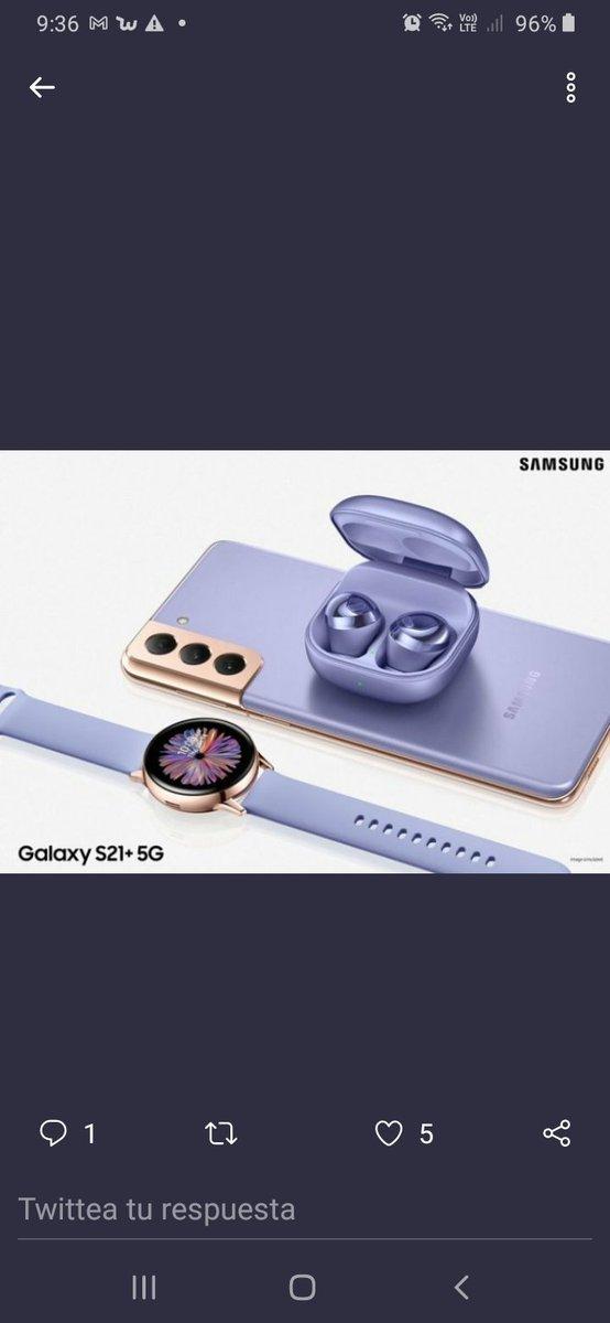 @SamsungChile El Phantom violet #GalaxyS21 es mi preferido, realmente hermoso, cumple todas mis espectativas!!! 💜💜💜💜🥰🥰🥰🥰. #BTSARMY @BTS_twt #BTSxsamsung