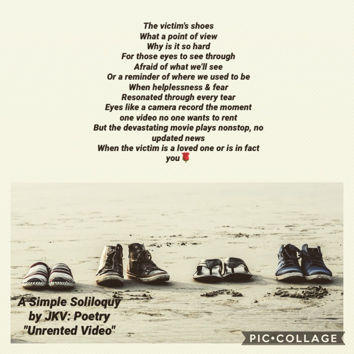 ☀️🌹 A Simple Soliloquy by JKV: Poetry  #writersoftwitter #amwriting #poem #WritingCommunity #writers #writing #writerslife #poetrycommunity #poetry #Mindset #writerscommunity #poetsoftwitter #thinking #creativewriting #micropoetry https://t.co/jVGSx5lM9P