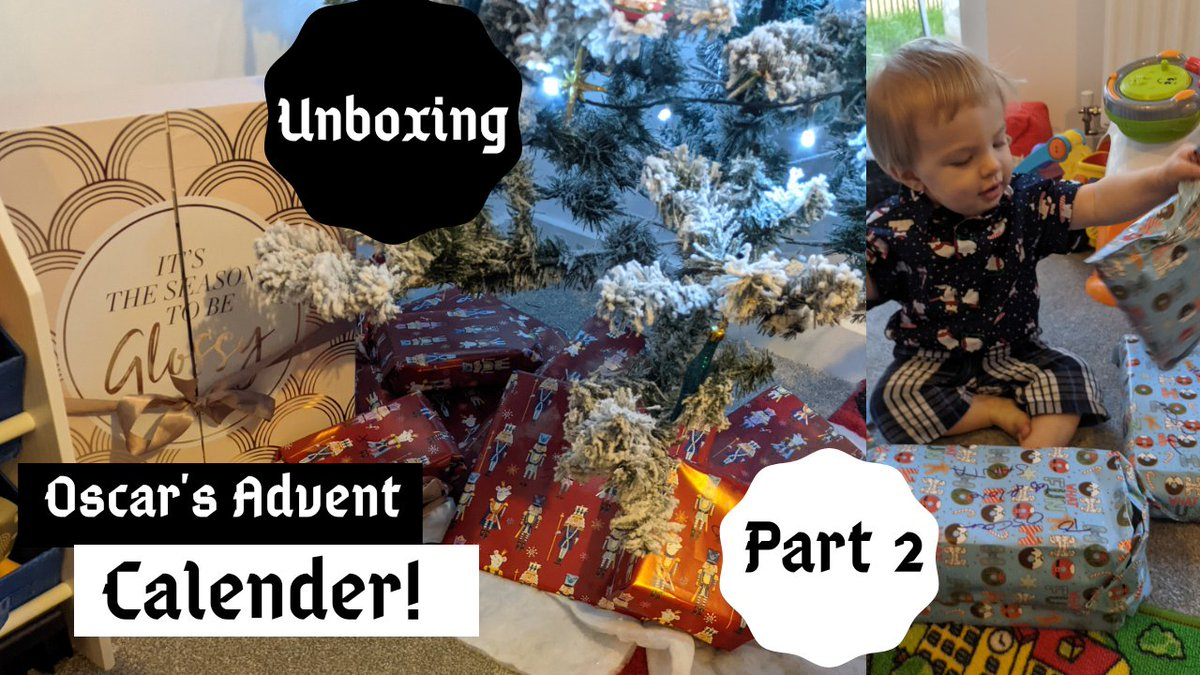 New video on my vlog channel, this is my part 2 of my little boys advent calendar, part 1 is on the channel aswell if you guys are interested :)     #adventcalendar #vlog #subscribe #1yearold #toddler #Influencer #unboxing