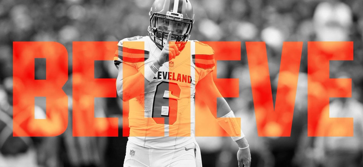 Retweet... 👏 IF YOU BELIEVE! 🔥  #CLEvsKC x #Browns https://t.co/Uvi4xawF3o