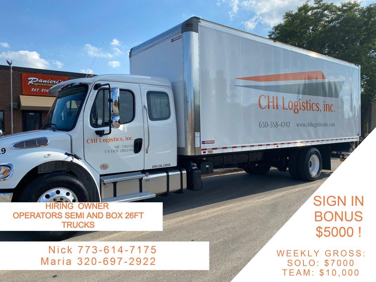 IF THIS SOUNDS LIKE GOOD OPPORTUNITY FOR YOU CALL US TODAY:📢📢📢 📞Recruiter Nick 7736147175 or text me on 773-614-7175 Para mas informacion llama o manda un mensaje de texto:  📞Maria 320-697-2922 #newjob #news #TruckForRent #truck #truckinglife #cdl #trucks #jobopportunity https://t.co/YJJw2crorG