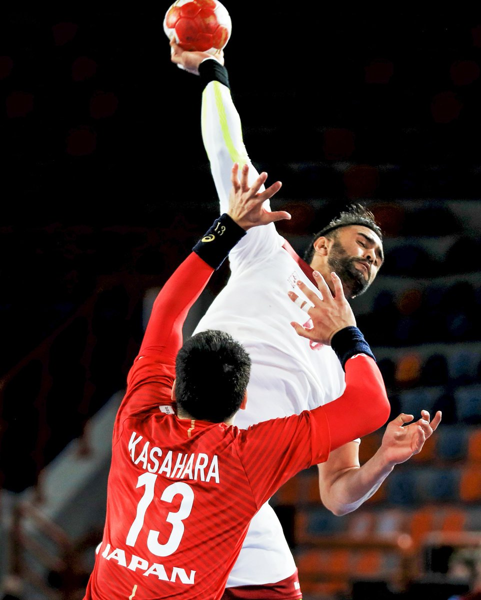 Qatar handball team secured a 31-29 win over their Japanese counterpart in the match they played Sunday within Group C of the ongoing 2021 Handball World Cup in Egypt. #QNA https://t.co/N2a000rAtb