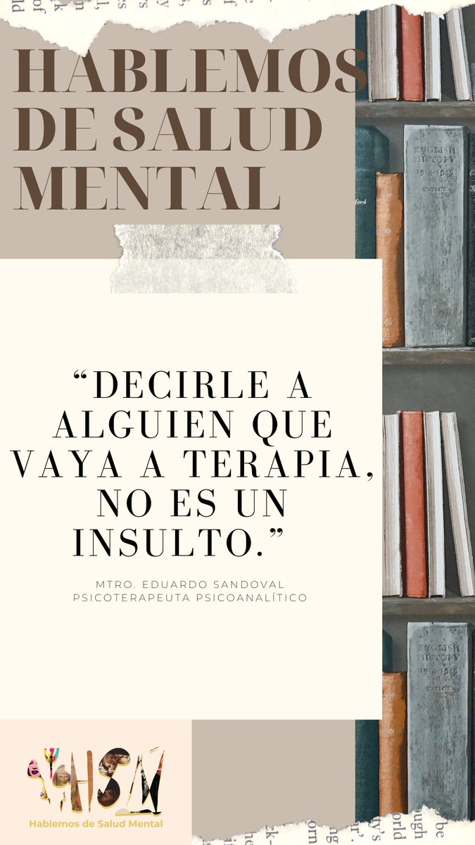 #hablemosdesaludmental #SaludMental