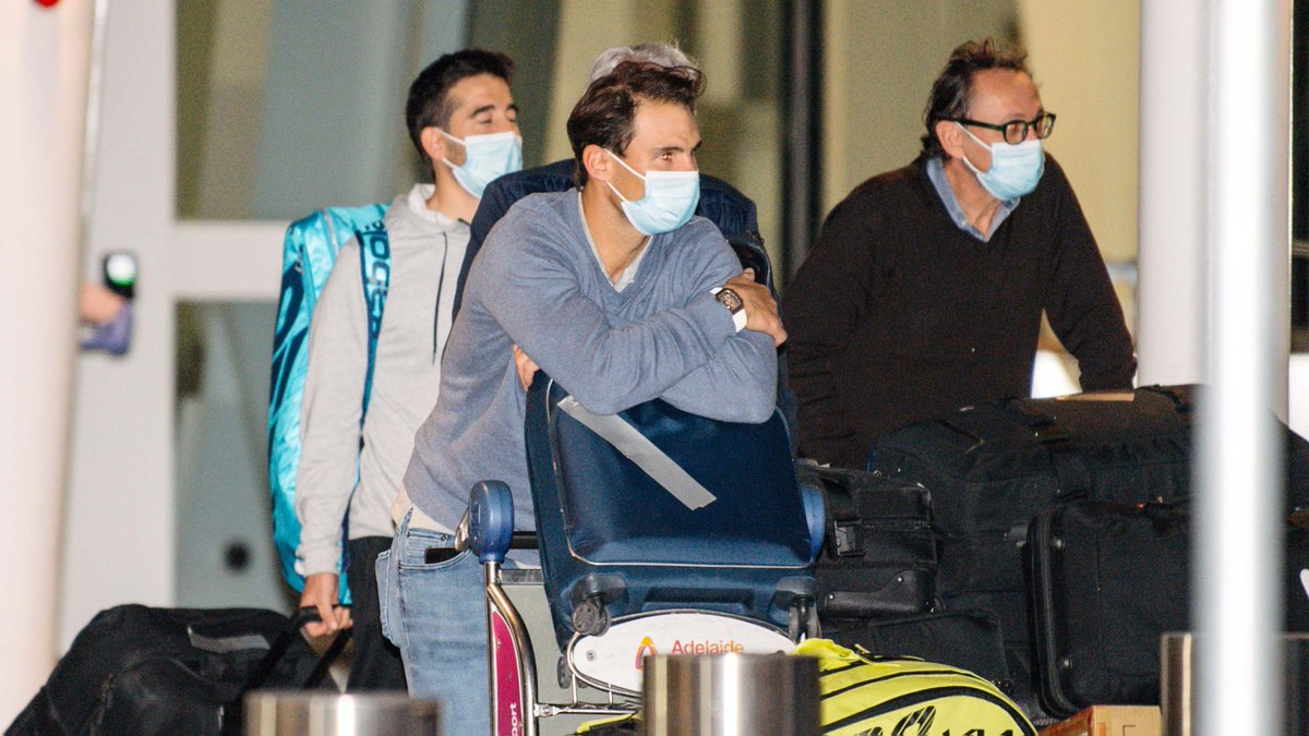 25 more Australian Open tennis players were forced into quarantine for two weeks after a passenger on their charter flight tested positive for COVID-19, the tournament organizers announced Sunday.