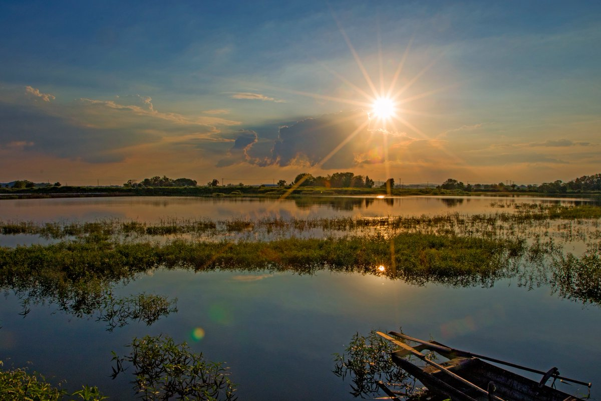 Through the course of this @UNDPChina @theGEF project, new wetland protected areas increased by 211,408ha.  This is over 816 square miles - almost as big as the state of Rhode Island. An incredible feat to💚#RestoreWetlands 💚🌏💧🌿 🐦