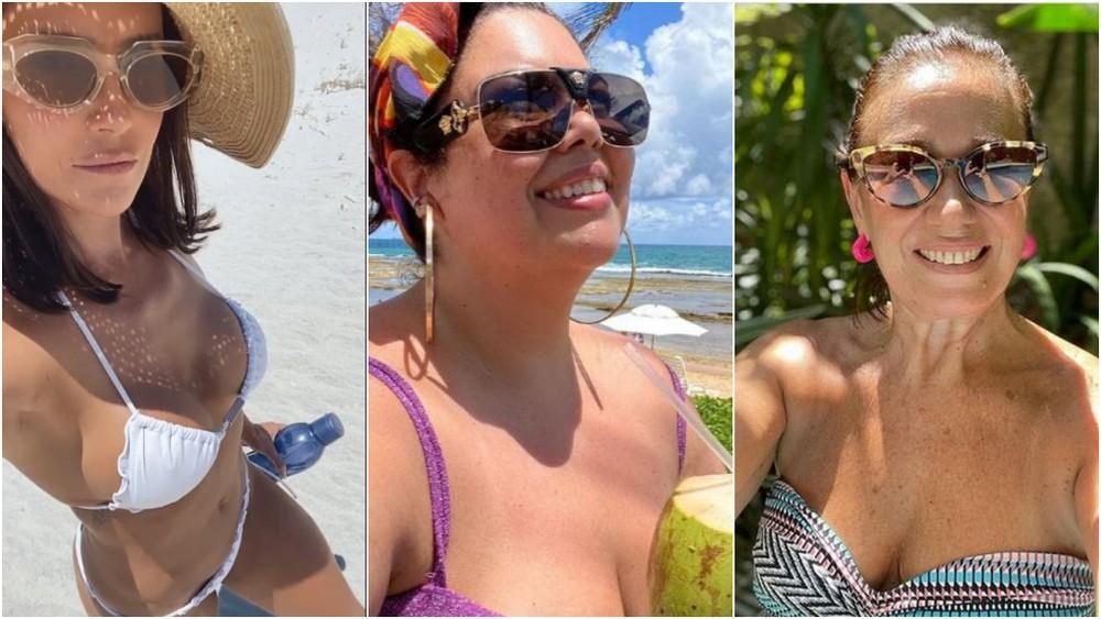 Vitamina D: ✅ Lilia Cabral, Deborah Secco, Fabiana Karla e mais famosos aproveitam domingo de sol para relaxar! #GshowFamosos ➡️