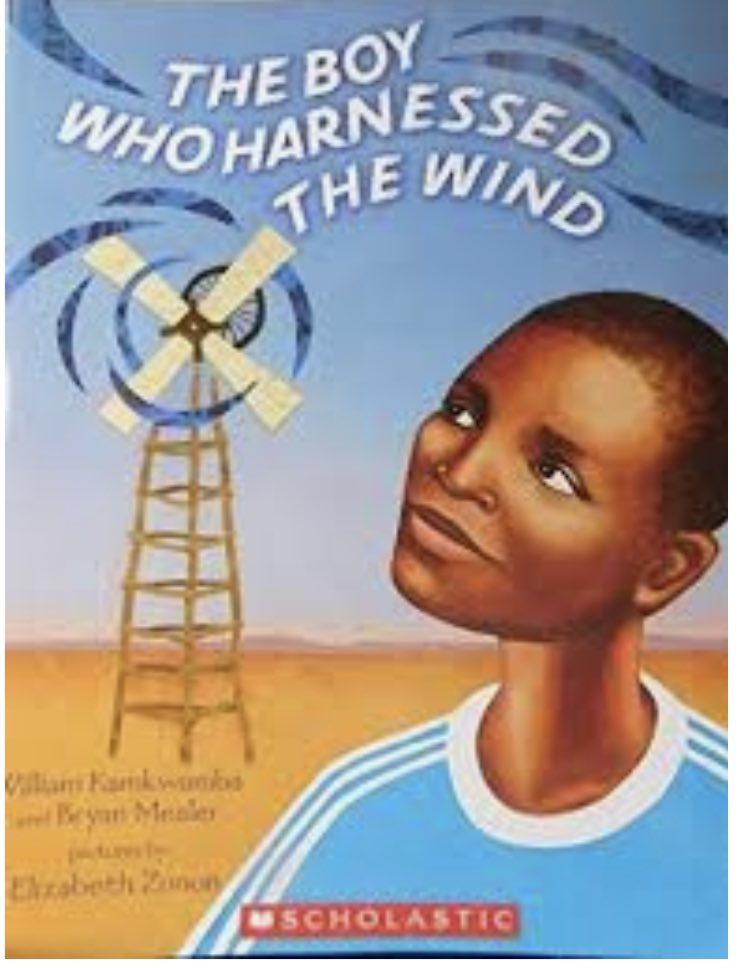 We worked hard on using our knowledge of simple machines and energy to build windmills like William Kamkwamba did to save his village in Africa. Our pocket of background knowledge got a little bigger with this story! #WatchSunmanDearborn #STEM
