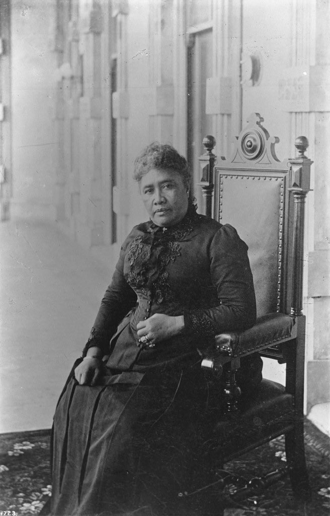 today on january 17, 1893, the kingdom of hawai'i was overthrown by the united states by deploying the marines and arrested our queen lili'uokalani. we still haven't forgotten.