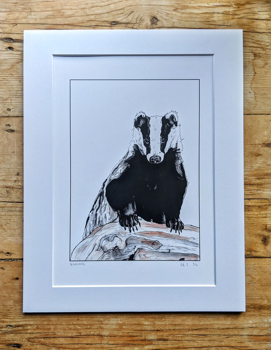 No home is complete with a few badgery touches. Well, we think so at least 😆  And 'Trufflehunter the Badger' by artist Sarah Williams could be the brock-illiant print you're looking for.   Sarah is making a donation to us for every print sold: