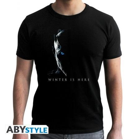 Game of Thrones Winter Is Here T-shirt Winter is here and the White Walkers army wants to seize Westeros!     #gameofthrones #got #winteriscoming #asongoficeandfire #winterfel #whitewalkers #nightking #tshirt #shop #gift #giftidea