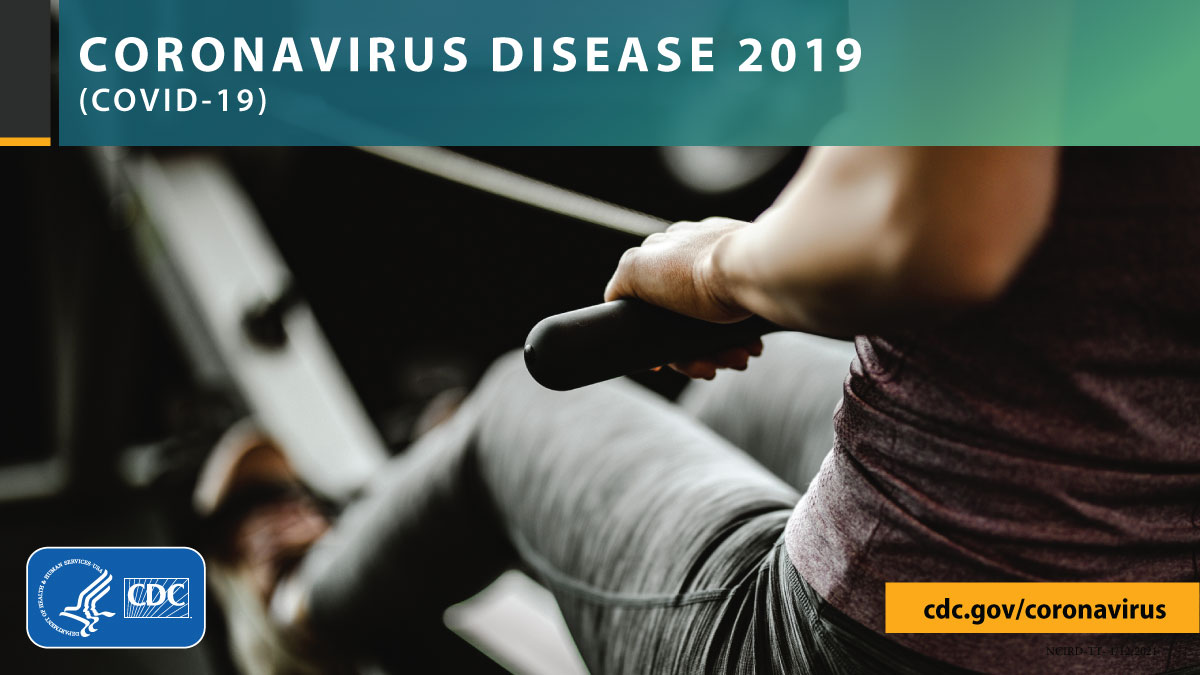 Exercise outdoors to reduce your risk of getting #COVID19. If you can't, go to a gym with high ceilings, good airflow & ventilation systems, & hand sanitizing stations. Make sure all staff & gym goers are required to #WearAMask. Stay 6ft from others. More: bit.ly/3bKbKDw