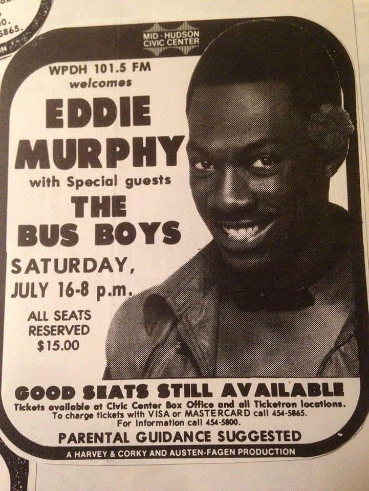 Would have loved to have seen this show, if only to see #VicJohnson play guitar with the #BusBoys. @sammyhagar @RealMadAnthony @EddieTrunk. Thanks to @TheChanceComplx for posting the photo. #Guitar @MidHudsonCC