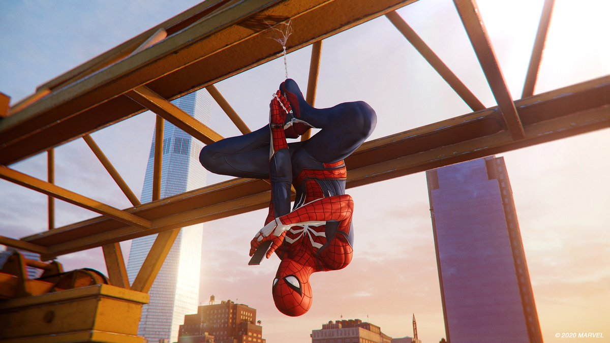 Shout out to the unsung heroes...like the gyroscope in Petes phone! #SpiderManPS4