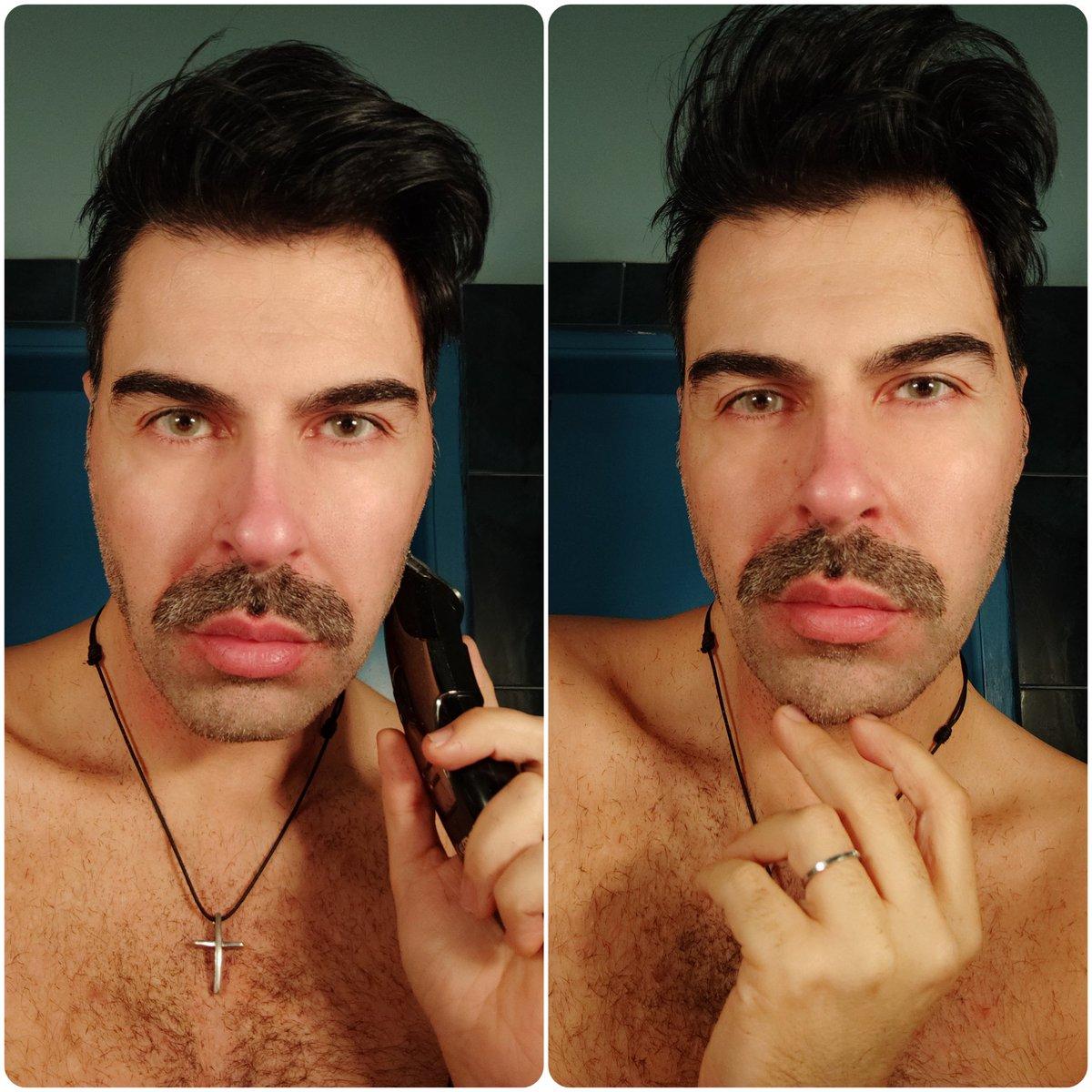 New moustache.... My hard porn beard gone... But it will return soon ;-) Beard is love guys woof!  #xoxo #DerekLiontis 💎🐱🐻🐺🌈 ........................................................... #men #lifestyle #mensworld  #gay #man #gaylifestyle #beargay #gayotter #gaybear #gaywolf https://t.co/1oHvc5Q9ku