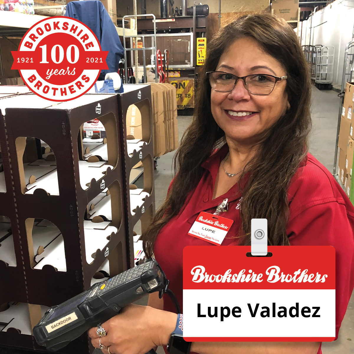 As a DSD clerk, Lupe Valdez does so many additional things to assist her co-workers, says Store Director Matt Milliff from... Read more: bit.ly/3sx4kt9 #Congratulations #ShoutoutSunday #EmployeeRecognition #BBPartner #EmployeeOwned #YourCommunityGrocerSince1921