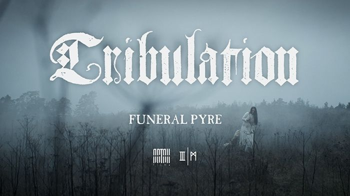 """Swedish metal outfit TRIBULATION released single & video to """"Funeral Pyre"""", a track from their soon to be released new album """"Where the Gloom Becomes Sound"""", out in a couple of weeks via @centurymedia! Check it out! #Tribulation #metal #music • GRIMM Gent"""