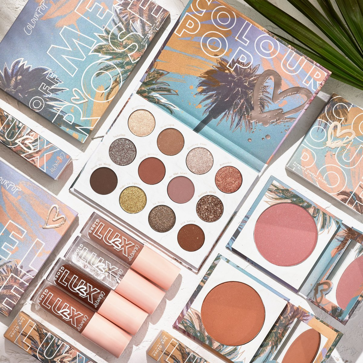 ☀️Sunshine and Palm Trees 🌴  Check our newest Melrose Collection available at @ultabeauty ✨