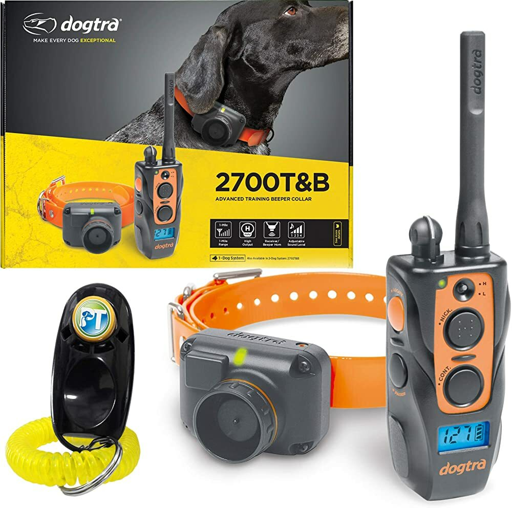 Dogtra 2700T&B / 2702T&B Remote Training and Beeper Collar - 1 Mile Range, Fully Waterproof, Recharg  #gifts #giftideas #dog #cat #puppy #pets  #blackfriday #thanksgiving #cybermonday @amazon #amazon #primeday