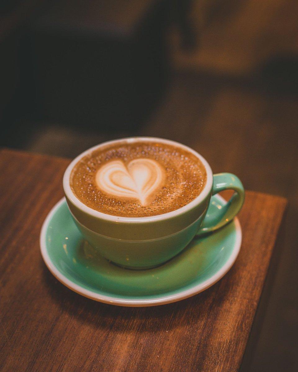 @MelissaOnline Italian Dark roast, steamed Soy milk, & Love. ❤☕❤  #sundayvibes #SelfCareSunday #coffeetime #SundayMorning ☀️