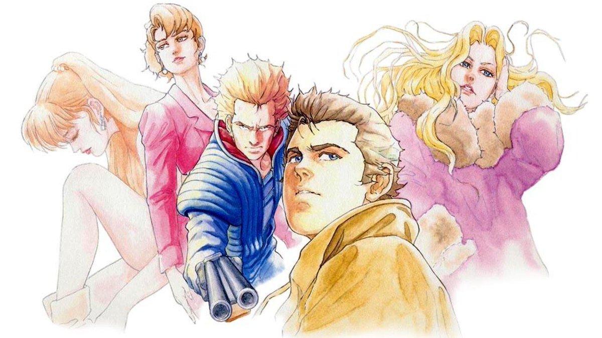 Replying to @TheOtaking: Snatcher - Hideo Kojima - Konami - Mega CD - 1988/1994  Illustration made by Tomiharu Kinoshita