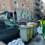 Image for the Tweet beginning: El servicio de basuras restablecido