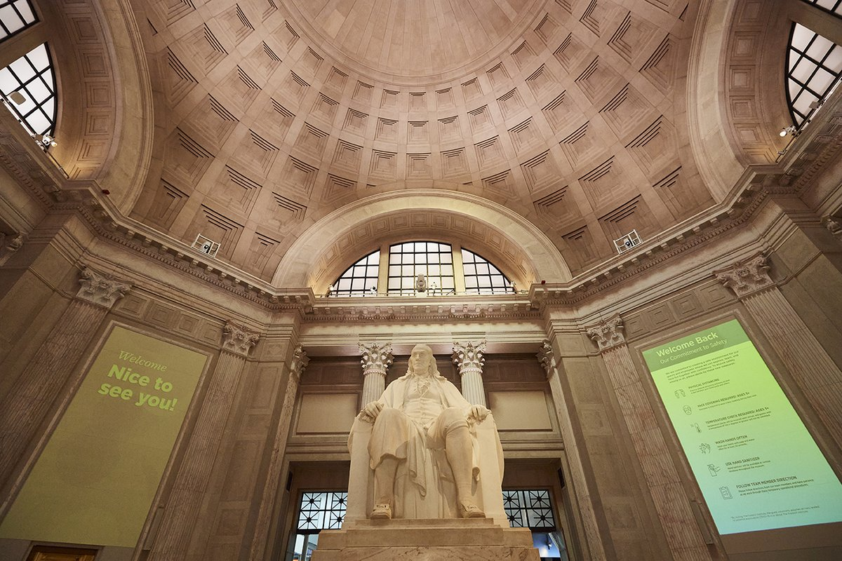 Happy 315th birthday to Benjamin Franklin, who was born on January 17, 1706! 🎉  Honor the Founding Father's passion for science at @TheFranklin, home to the Benjamin Franklin National Memorial ➡   #UnstoppablePHL