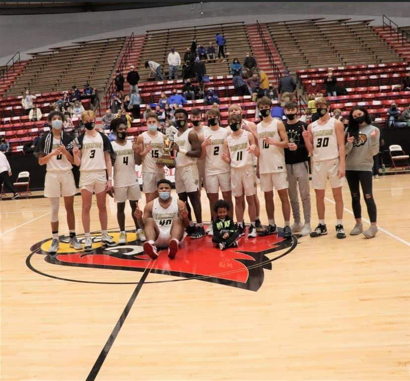 Grateful to work with this great group of players and coaches! 2020-21 has brought challenges but these guys have been locked in from the start! Back to Back All A Champs! #ALLIN