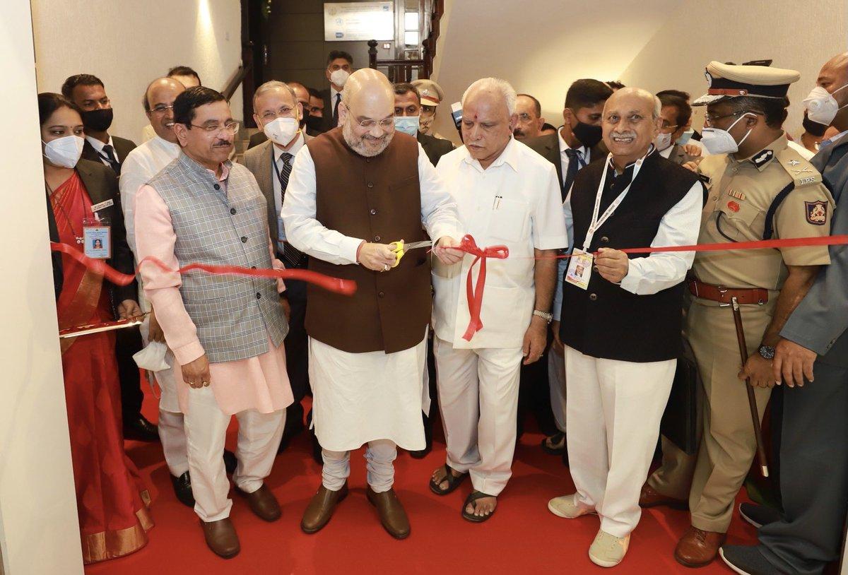 Replying to @AmitShah: Inaugurated the Advanced Simulation Centre of KLE Hospital in Belagavi, Karnataka.