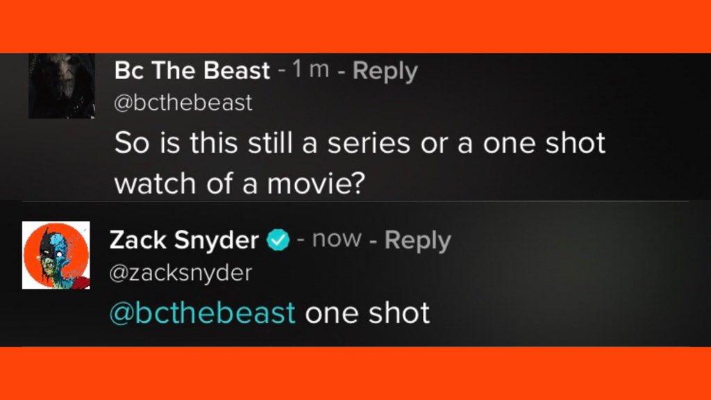 Justice League Snyder's Cut sera un film de 4 heures c'est confirmé