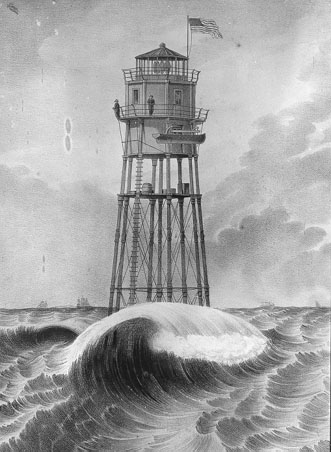 On April 17, 1851, the lighthouse at Minots Ledge collapsed into the sea a mile off the Massachusetts Coast killing both its keepers. Located south of Boston, the failure of this brand new lighthouse had been in the making for years. ow.ly/5ZCY50DaGok #SundayReading