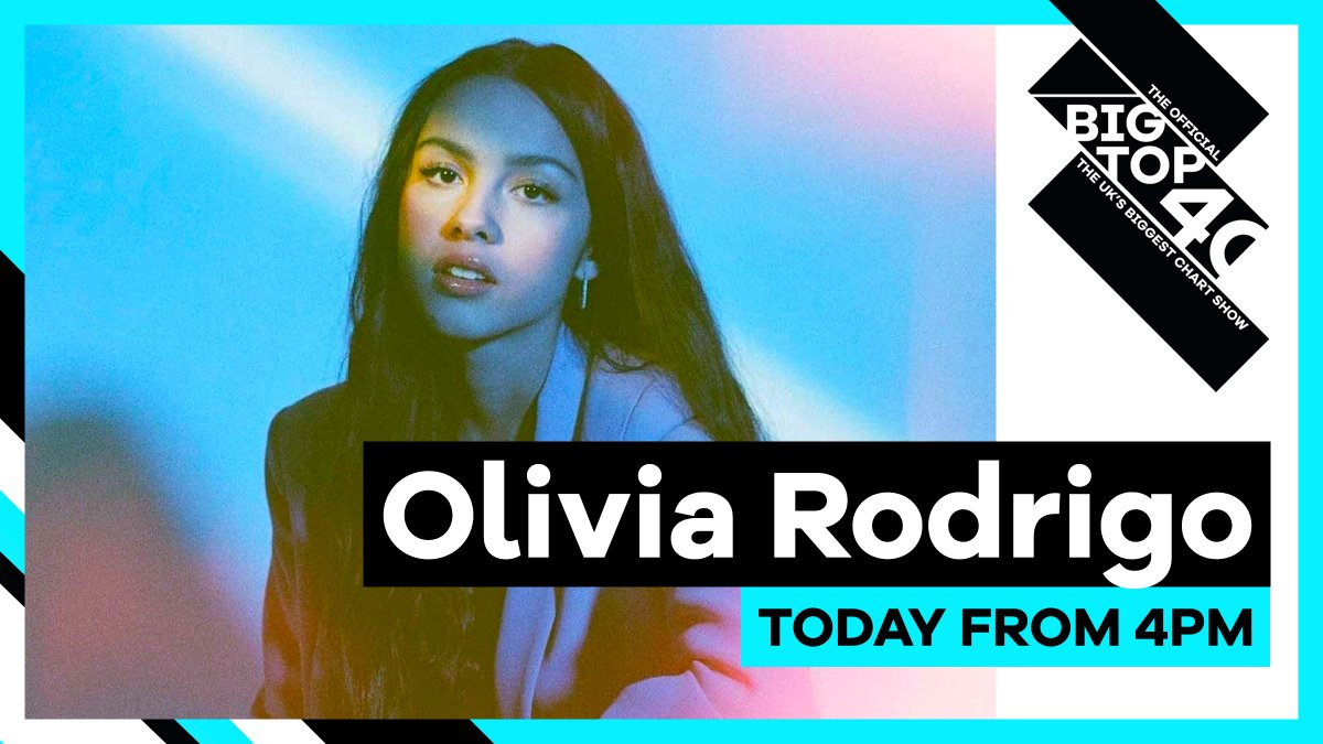 What do you want to ask @Olivia_Rodrigo? 💬  Olivia's joining @itswillmanning on the UK's biggest chart show today to see if 'drivers license' is Number 1 👀  Listen on @CapitalOfficial & @thisisheart from 4pm