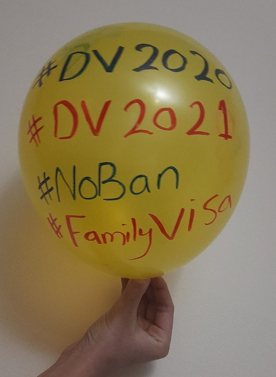 Together we are stronger  We need More Support..More Photos..More reach  #DV2021  #DV2020 #FamilyVisa #NoBan #Lamar #Ravens #BALvsBUF