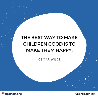 When your children ask you a simple question - don't answer right away. Instead, ask them what they think the answer is.  This is a fun way to really learn what they are thinking. #fun #questions #answers #oscarwilde #good #happy #upbrainery #thinking