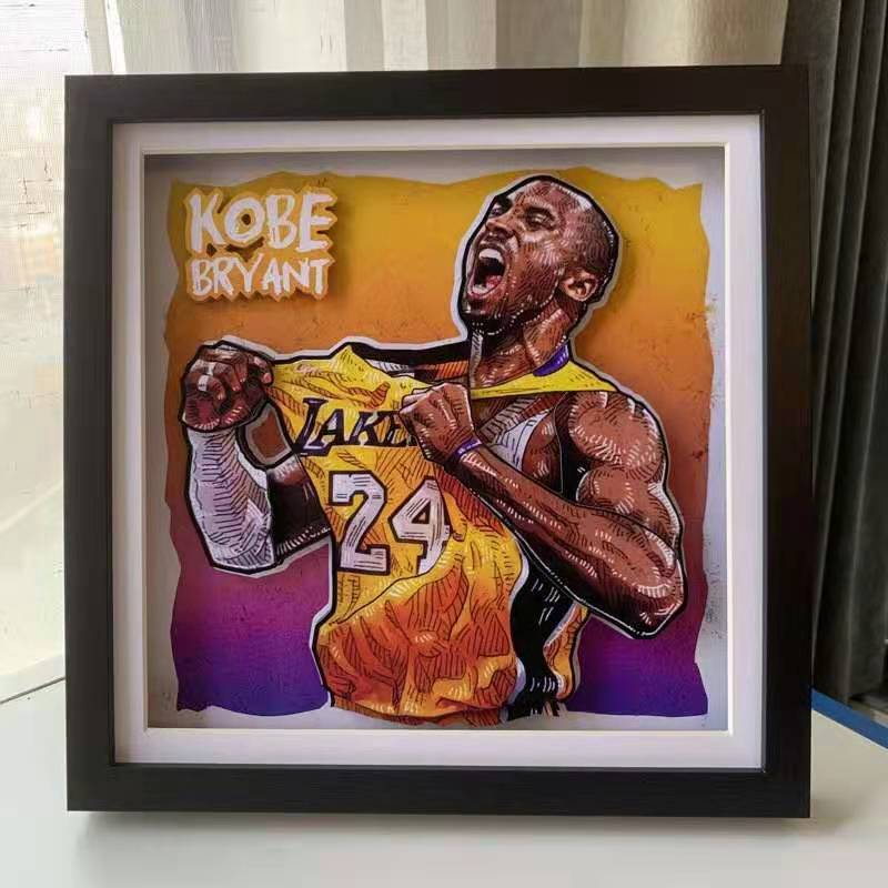 Kala Home - Kobe Bryant ART  Manufacturer:Kala Home  Series:ART  Measurement:33cm x 33cm  Limited Edition:No Limited  Shipping Date:Ship within 14 day  #KobeBryant #Basketball #art #collectibles #BasketballLegend #legend #collectibles