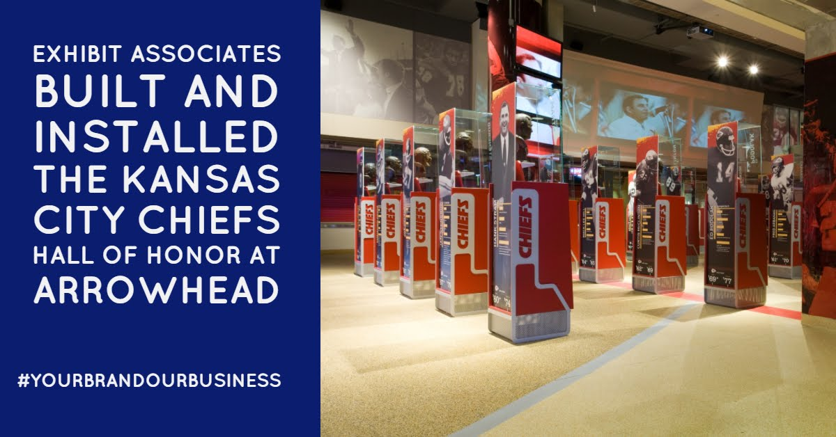 The real question is when does #15 @PatrickMahomes get honored here?   The @ExhibitAssociat Team was honored to build and install this at #Arrowhead for the @Chiefs #CHIEFSKINGDOM #GoChiefs #RunItBack Find out more at