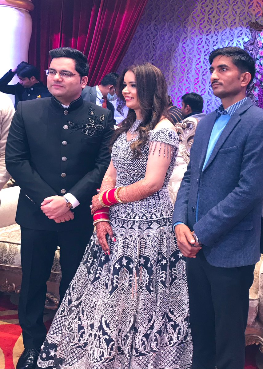 Many congratulations to @akashtomarips sir!  May this new start, bring all the joy and happiness in your life. Best wishes sir💐💐 #Marriage