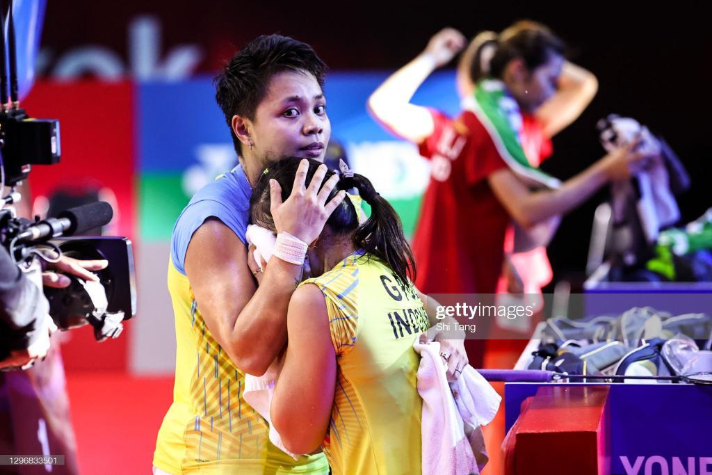 #OOT Greysia Polii dan Apriyani Rahayu berhasil menjadi Ganda Putri Pertama yang mampu menjuarai BWF Super Series 750+ Thailand Open 2021.   Proud of you, Guys ! 🇮🇩🇮🇩 https://t.co/Wy5HWO3abc