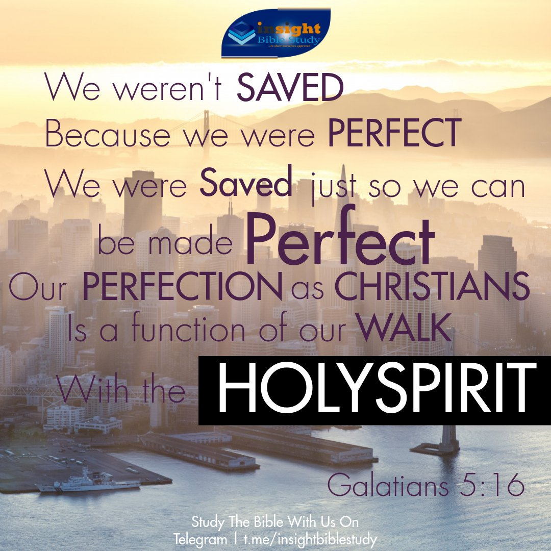 But I say, walk habitually in the [Holy] Spirit [seek Him and be responsive to His guidance], and then you will certainly not carry out the desire of the sinful nature [which responds impulsively without regard for God and His precepts]. Galatians 5:16 #sundayvibes #Christian
