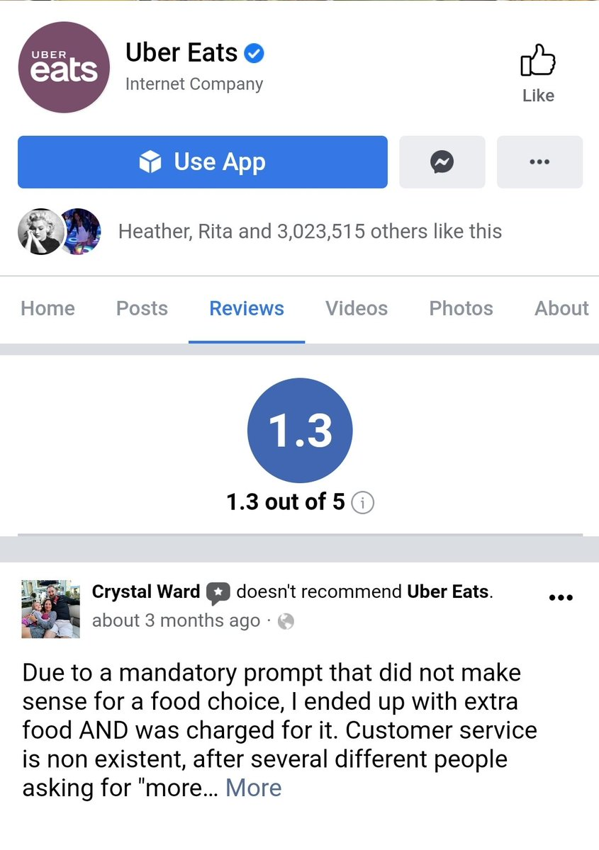 @UberEats Your rating is still pretty low. Just a reminder of how awful your company is. #UberEats #badcompany #badcustomerservice #sundayvibes #deliveryservice #fooddelivery #uber #delivery