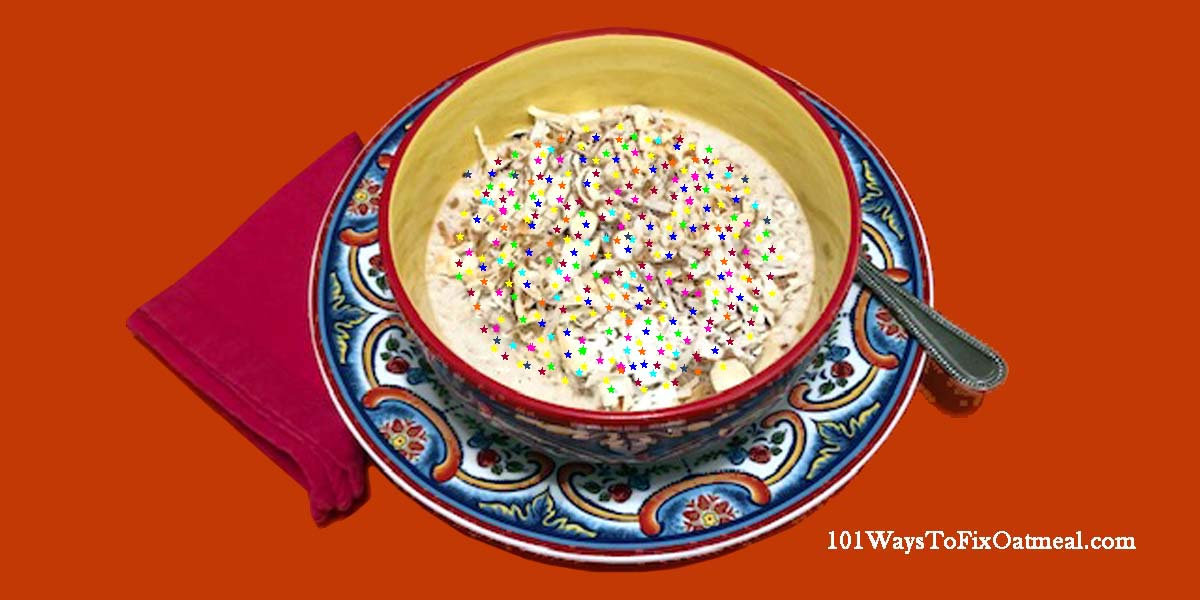 #HappyBirthdayBettyWhite!  Cheers to a long life! #oatmeal #Sunday #sundayvibes #Health #healthy